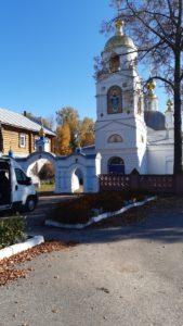 Храм во Владимирской области.