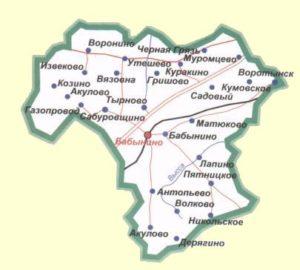 Бабынинский район.
