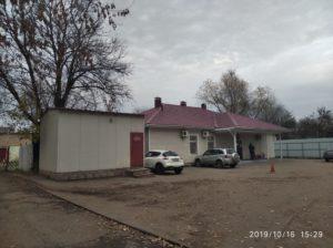 Морг в Климовске при городской больнице № 2 в Подольске.