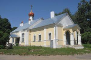 Шумячи Смоленская область Свято Ильинский храм.
