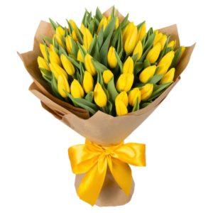 Жёлтые цветы.
