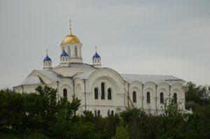 Храм Спасо преображения в Серафимовиче.