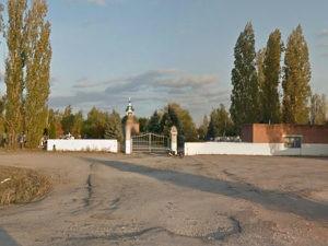 Кладбище в Урюпинске.
